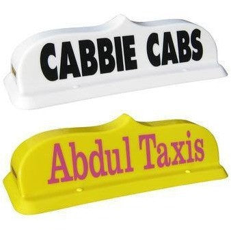 "18"" Eastern Taxi Roof Sign - Taxi-Mart Shop"