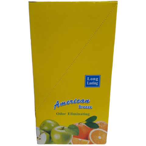 American Breeze Odor Fruit Fragranced Air Freshener Multi Pack [24] - Taxi-Mart Shop
