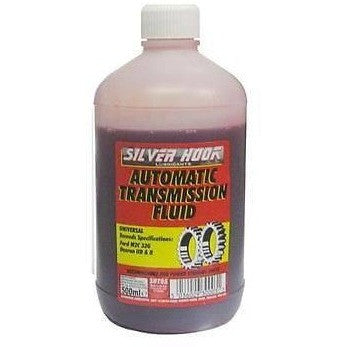 Silverhook SHT05 Universal Transmission Fluid [ATF] 500ml - Taxi-Mart Shop