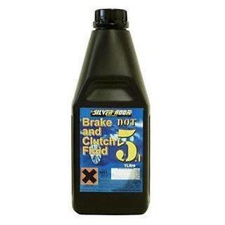 Silverhook DOT 5.1 Brake And Clutch Fluid  - 1 Litre - Free Tracked Delivery - Taxi-Mart Shop