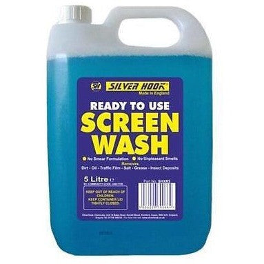 Silverhook Screen Wash Ready Mixed 5 Litres [SHXR5] - Free Tracked Delivery - Taxi-Mart Shop
