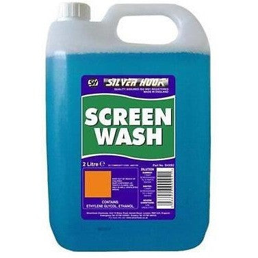 Silverhook Screen Wash 2 Litres - Free Tracked Delivery - Taxi-Mart Shop