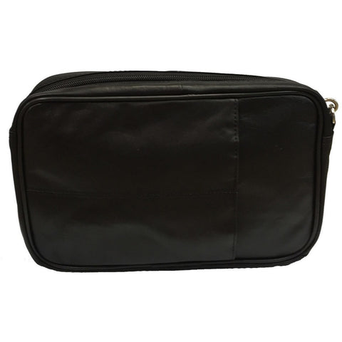 Taxi Money Bag - Black Leather - Compact Size And Great Quality [P14] - Taxi-Mart Shop