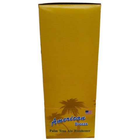 American Breeze Palm Tree Air Freshener Multi Pack [24] - Taxi-Mart Shop