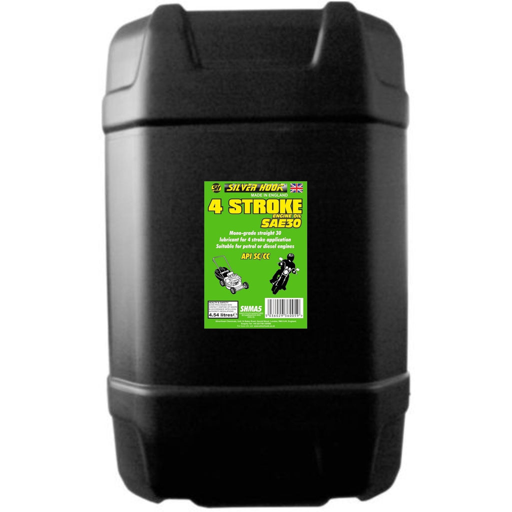 Silverhook 4 Stroke Engine Oil/Lubricant [SAE30] 25 Litres SHMA6 - Taxi-Mart Shop