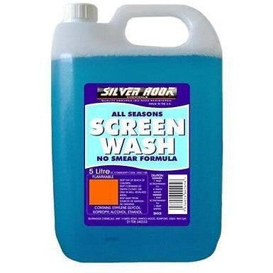 Silverhook All Seasons Concentrated Screen Wash 5 Litres [SHX5] - Free Tracked Delivery - Taxi-Mart Shop