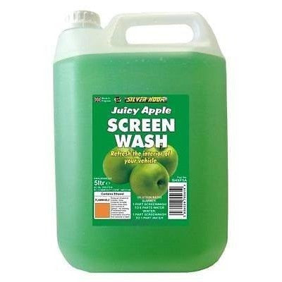Silverhook Juicy Apple Fragranced Screen Wash 5 Litres - Tracked Delivery - Taxi-Mart Shop