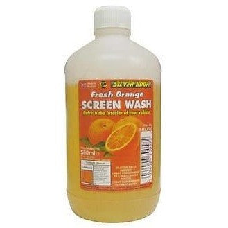 Silverhook Orange Fragranced Screen Wash 500ml - Free Tracked Delivery - Taxi-Mart Shop