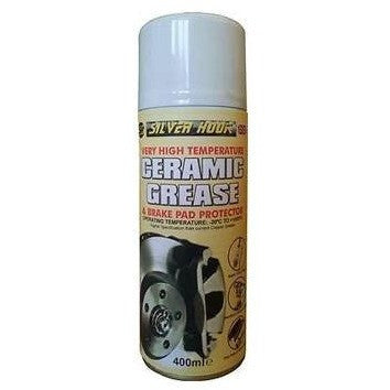 Silverhook Silverhook VHT Ceramic Brake Grease and Ceramic Brake Lube 400g Spray Can - Taxi-Mart Shop