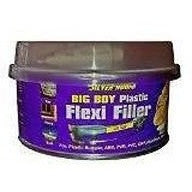 Silverhook Big Boy Plastic Bumper Filler Flexi Filler Kit 250ml Tin - Taxi-Mart Shop