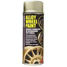 E-Tech DRIFT GOLD Chip Resistant Alloy Wheel Paint 400ml - Taxi-Mart Shop