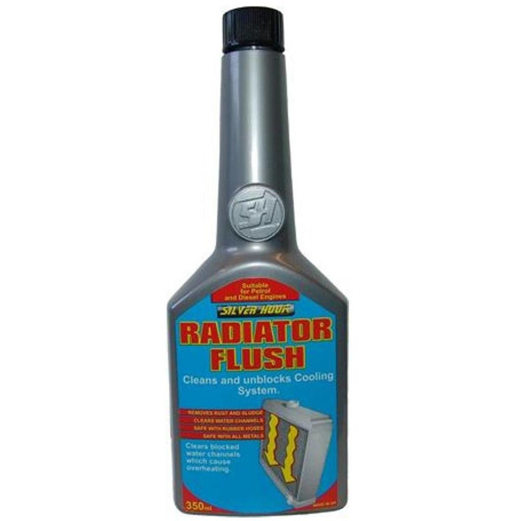 12 x Silverhook Radiator Flush Petrol/Diesel 325ml Rapidly Clears Coolant System - Taxi-Mart Shop