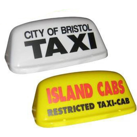 "16"" Round Aero Taxi Roof Sign - Taxi-Mart Shop"