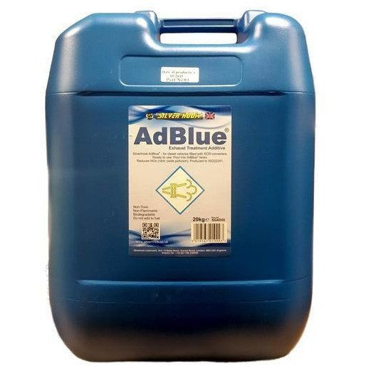 Silverhook Adblue 20kg Drum For Audi And VW + Free Spout 20 Litres - Taxi-Mart Shop