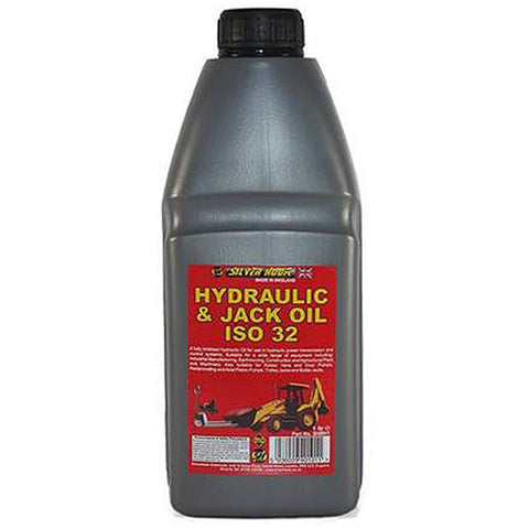 Silverhook SRH1 ISO 32 Hydraulic Oil For Trolley Jacks/ Compressors 1L - Taxi-Mart Shop