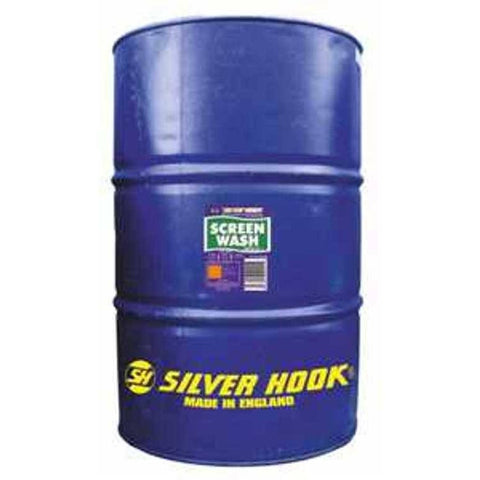 Silverhook Concentrated Screen Wash 205 Litre Drum - Taxi-Mart Shop