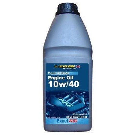 Silverhook 10w/40 Excel Semi Synthetic Engine Oil High Performance SL/CF 1 Litre - Taxi-Mart Shop