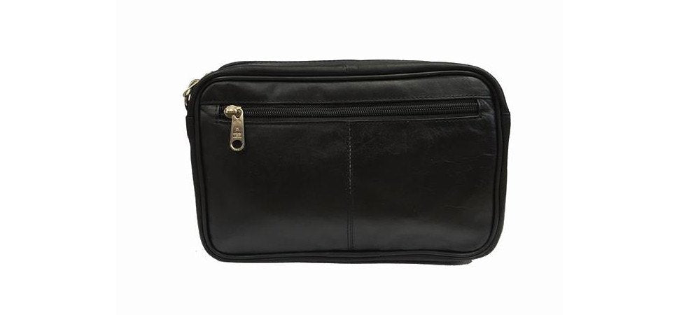 Leather Taxi Money Bag