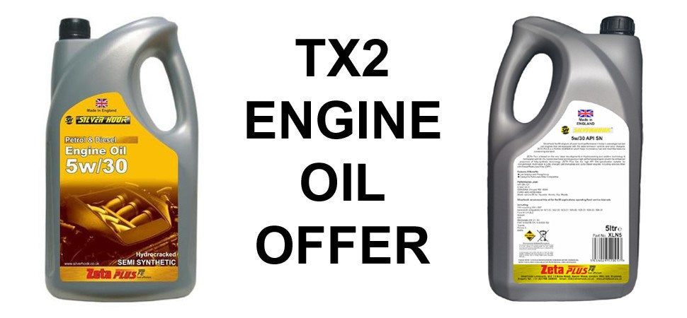 TX2 Taxi Engine Oil Offer