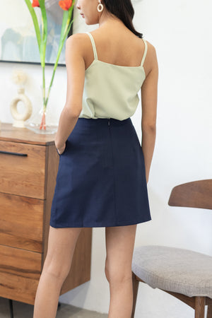 Dariana Pocket Skorts In Navy