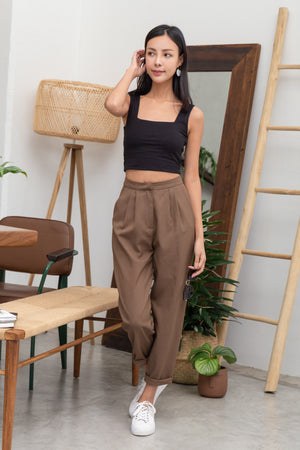 Bradley Cigar Pants In Coffee