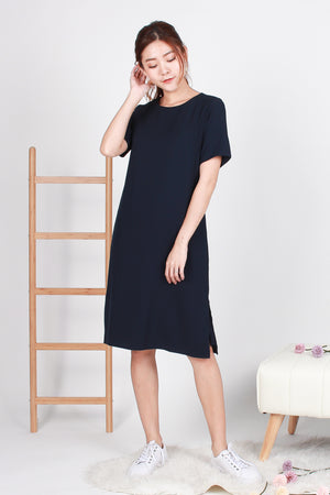 *BACKORDER* *TSA Label* Yander Midi Dress In Navy