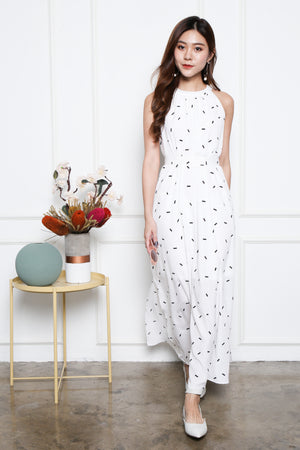 Kyloe Sprinkles Maxi Dress In White