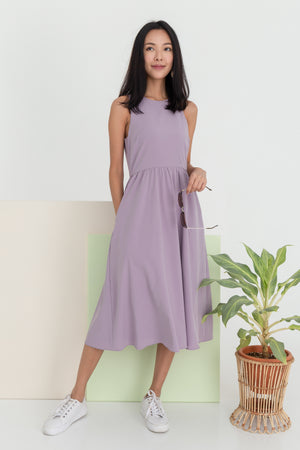 *BACKORDER* Gloriana Skater Midi Dress In Lilac