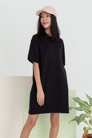 *RESTOCK* Allison Pocket Dress In Black