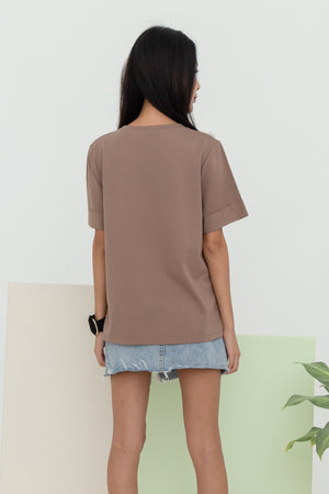 Adelaide Basic Tee Shirt In Neslo