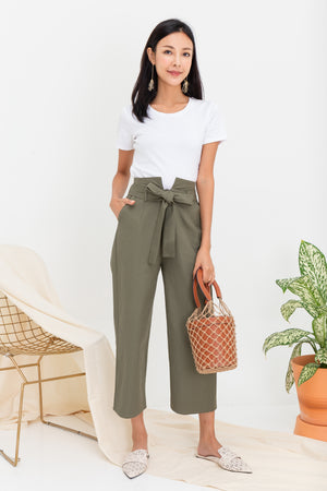 *TSA Label* Wilhelm Pants In Olive