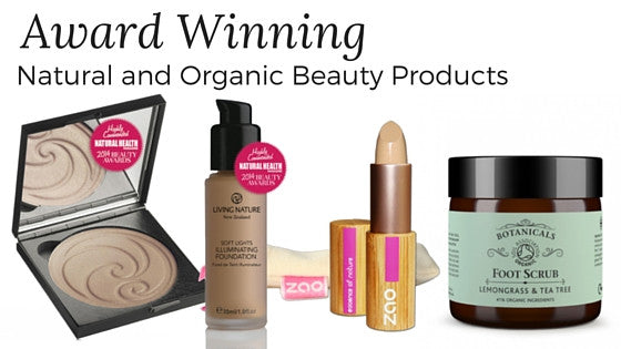 Award Winning Organic and Natural Beauty Products