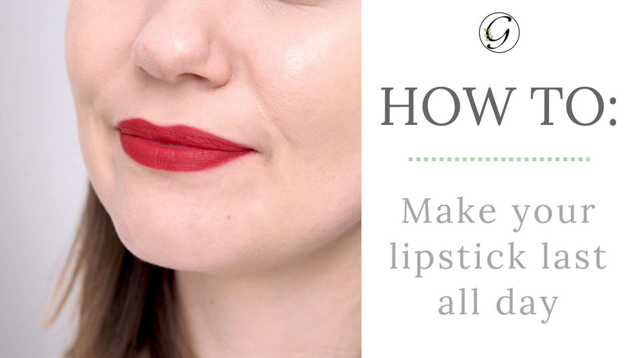 How To: Make Your Lipstick Last All Day