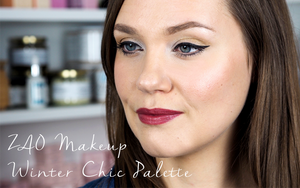 How to Use the ZAO Makeup Winter Chic Palette