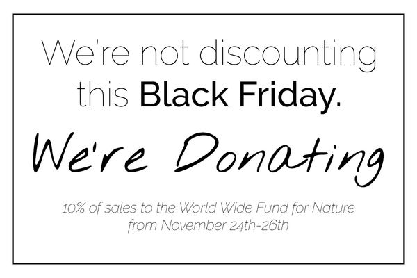 Why We're Not Discounting this Black Friday