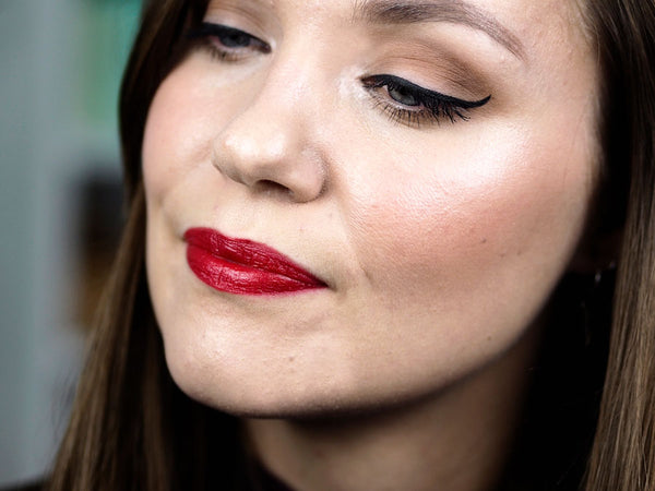 Christmas Party Makeup Inspiration | Natural and Organic Makeup