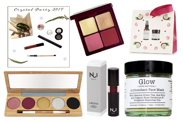 Organic Beauty Christmas Gift Guide 2017