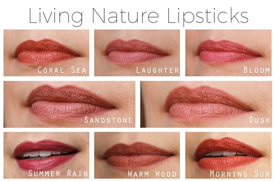 living-nature-lipstick-swatches