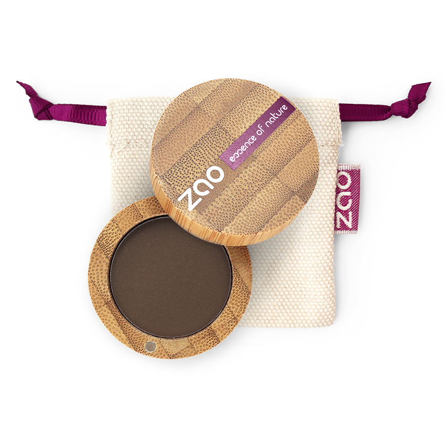 ZAO-Makeup-Matte-Organic-Eyeshadow-203-Dark-Brown