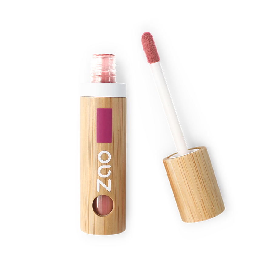 ZAO-Makeup-444-Coral-Pink-Lip-Ink