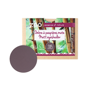 ZAO-Makeup-Matte-Organic-Eyeshadow-205-Dark-Purple-Refill