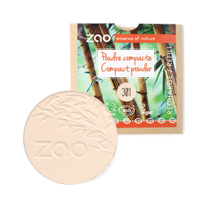 ZAO-Makeup-301-Ivory-Compact-Powder-Refill