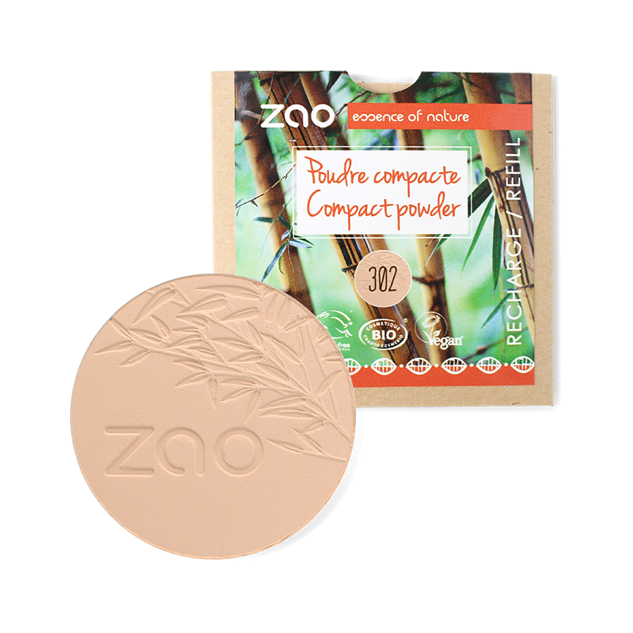ZAO-Makeup-Organic-Compact-Powder-302-Beige-Orange-Refill