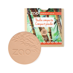 ZAO-Makeup-303-Brown-Beige-Compact-Powder-Refill