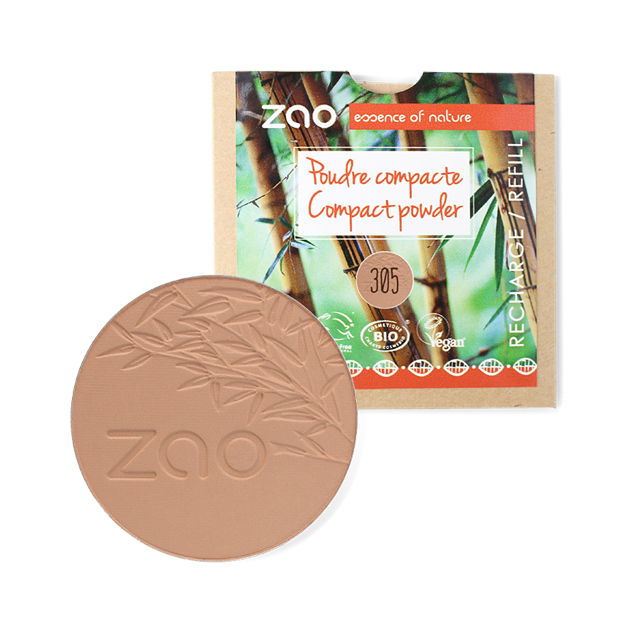 ZAO-Makeup-Organic-Compact-Powder-305-Milk-Chocolate-Refill