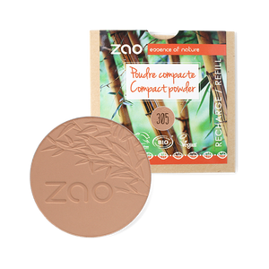 ZAO-Makeup-305-Milk-Chocolate-Compact-Powder-Refill