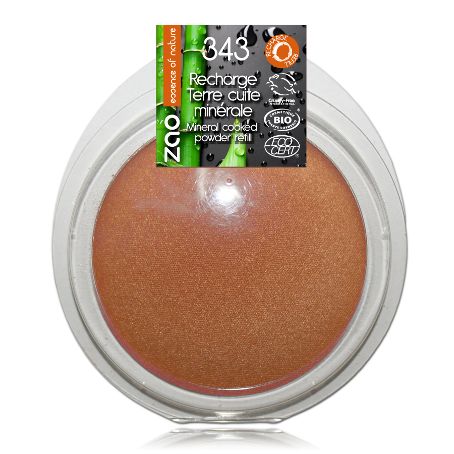 ZAO-Makeup-343-Golden-Bronze-Mineral-Cooked-Powder-Refill