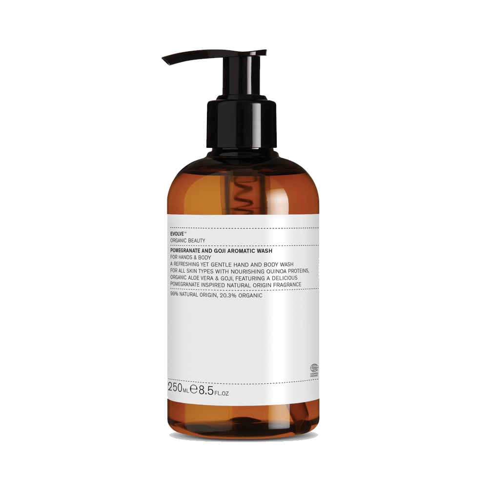 Evolve Beauty - Pomegranate and Goji Aromatic Wash 250ml