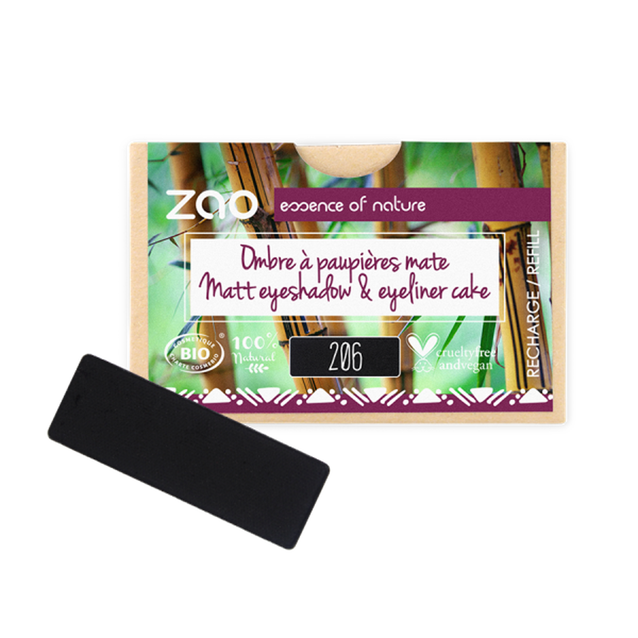 ZAO Makeup - Rectangle Eyeshadow Refills