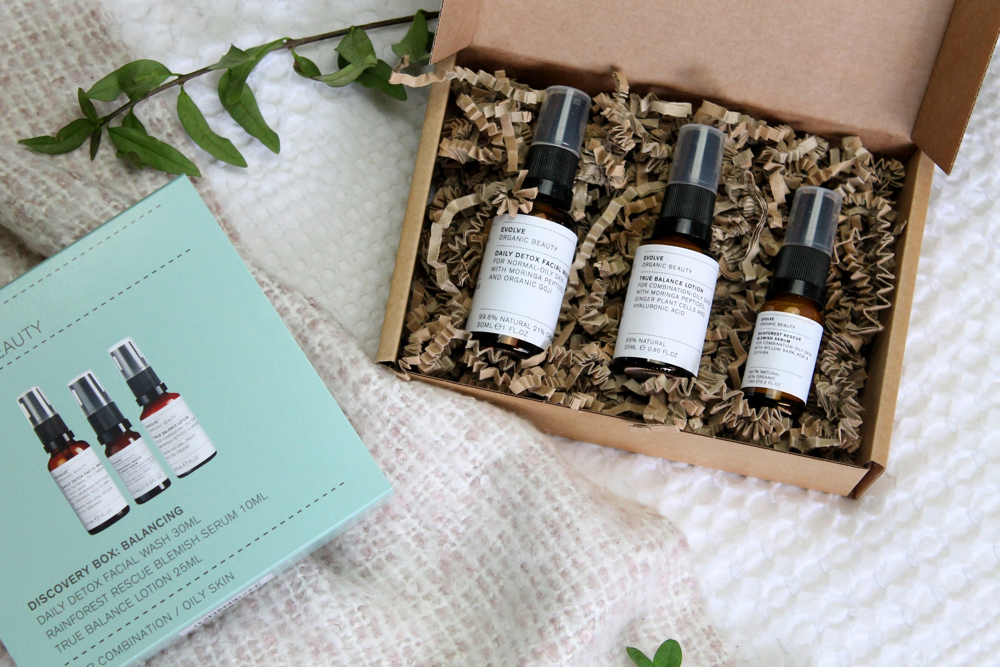 Evolve Beauty - Discovery Box: Balancing